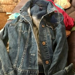 Gap denium jacket size small